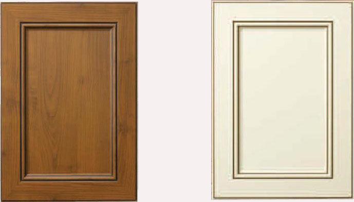 Glazed Thermofoil Doors