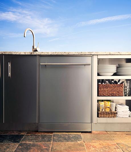 kalamazoo outdoor dishwasher on kitchann style