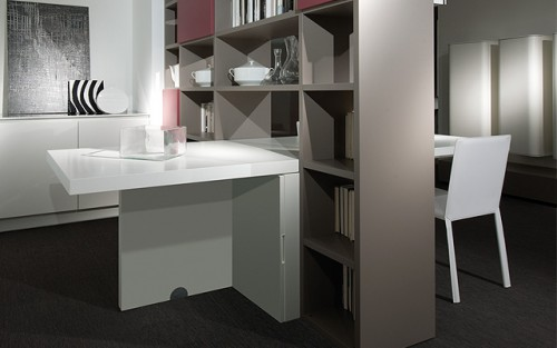 Fifty Fifty Room Divider Storage |KitchAnn Style