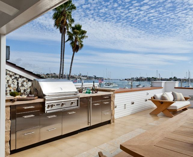 Experts agree adding an outdoor kitchen adds value to your home.