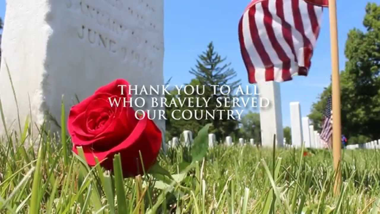 Memorial Day Weekend is a time to remember