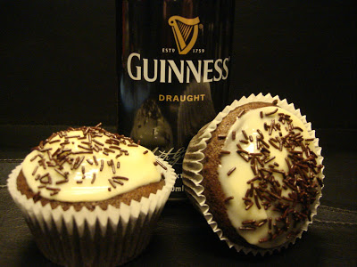 Guiness cupcake recipe
