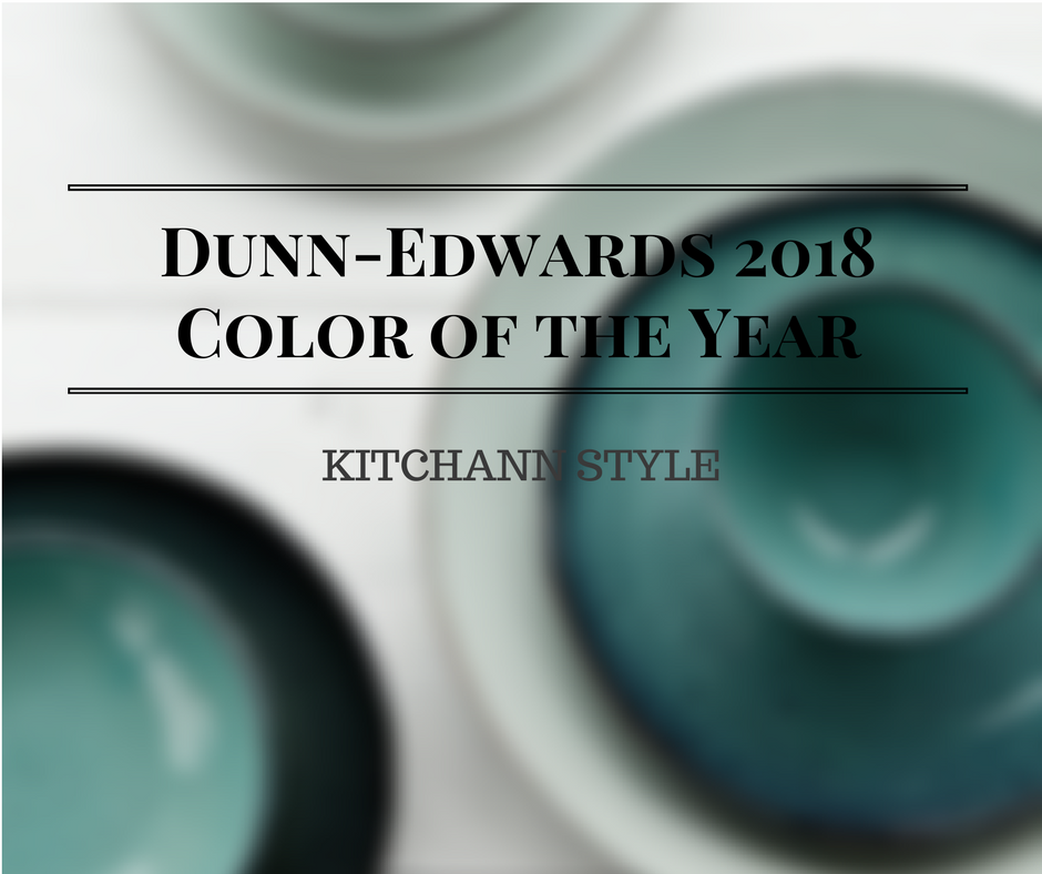 "Dunn-Edwards 2018 Color of the Year, The Green Hour, draws inspiration from turn-of-the-century Paris, when 5 o'clock became known as ""The Green Hour"" due to the popularity of absinthe."