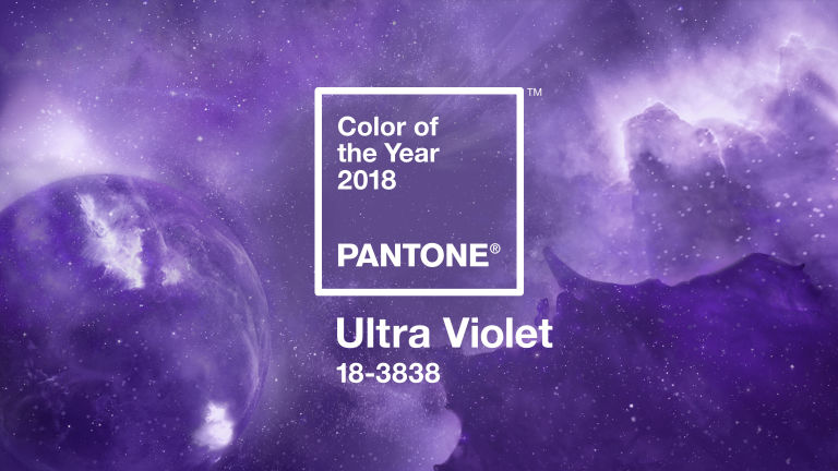 "Ultra Violet is ""an enigmatic purple shade that evokes the inventive spirit and imaginative thinking that challenges the status quo."""