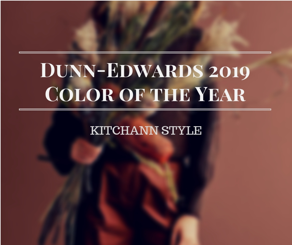 Dunn-Edward Color of the Year 2019