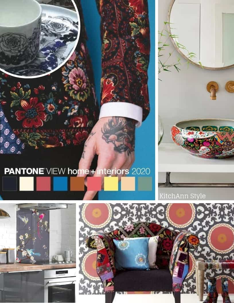 Pantone View Home + Interiors 2020 Color