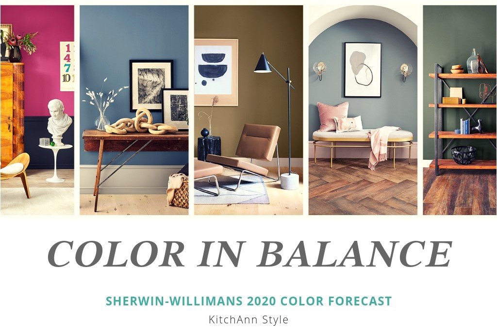 2020 Color trends themes together by Sherwin-williams