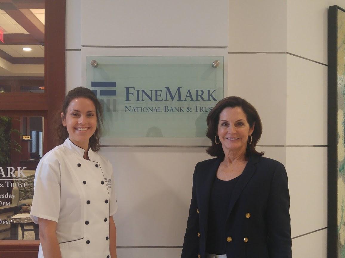 Chef Lauren Peterson and Adria Starkey