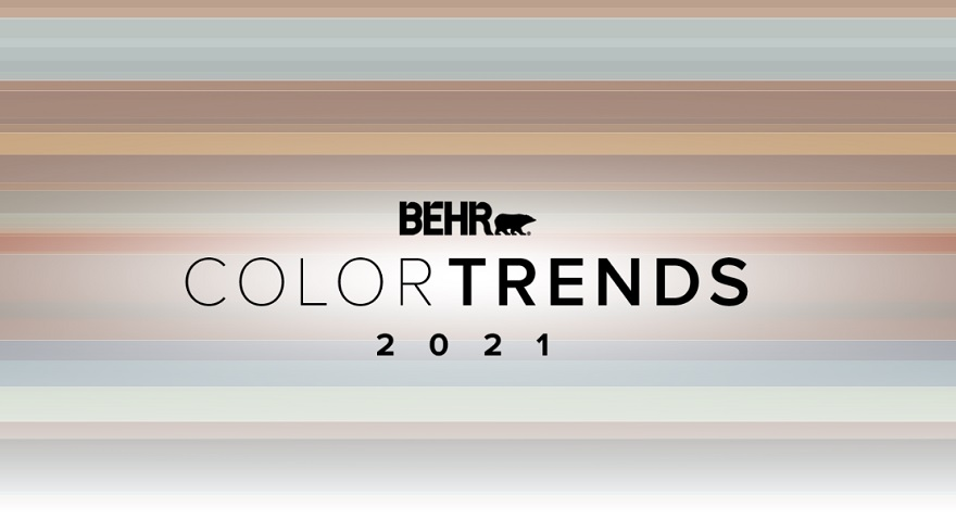 BEHR Color Trends 2021