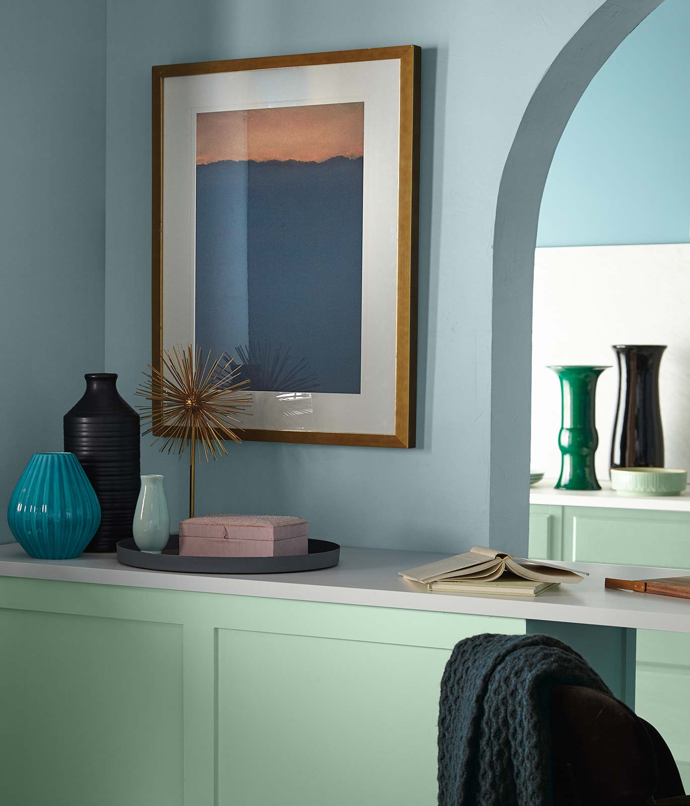 BEHR Color Trends 2021 Subtle Focus Interior Color Inspiration
