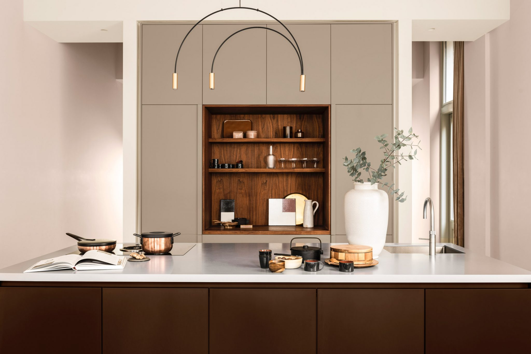 AkzoNobel Color of the Year 2021 | Brave Ground Kitchen cabinet color