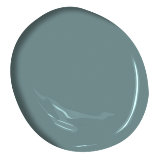 Benjamin Moore Color of the Year 2021 Aegean Teal Swatch