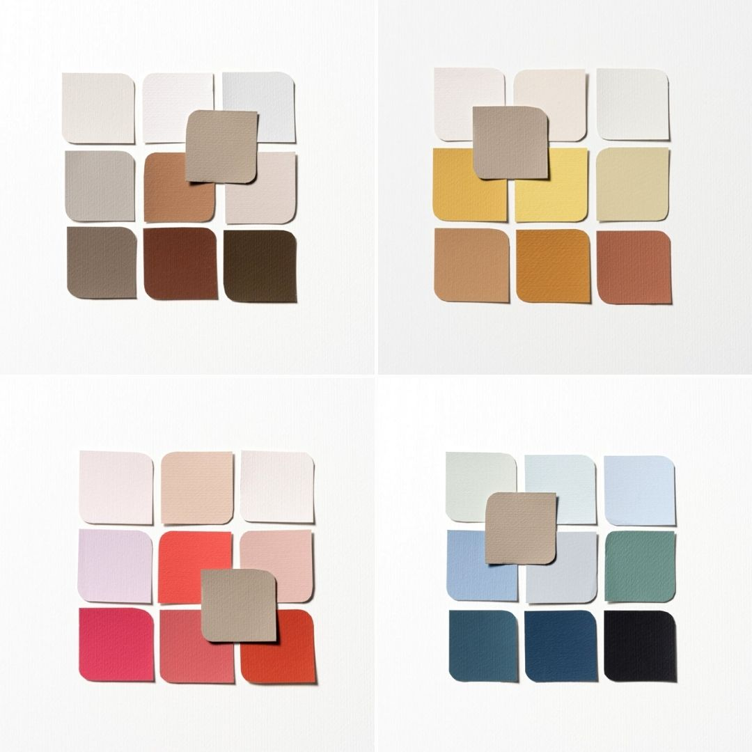 AkzoNobel Color of the Year 2021 | Brave Ground complementary palettes