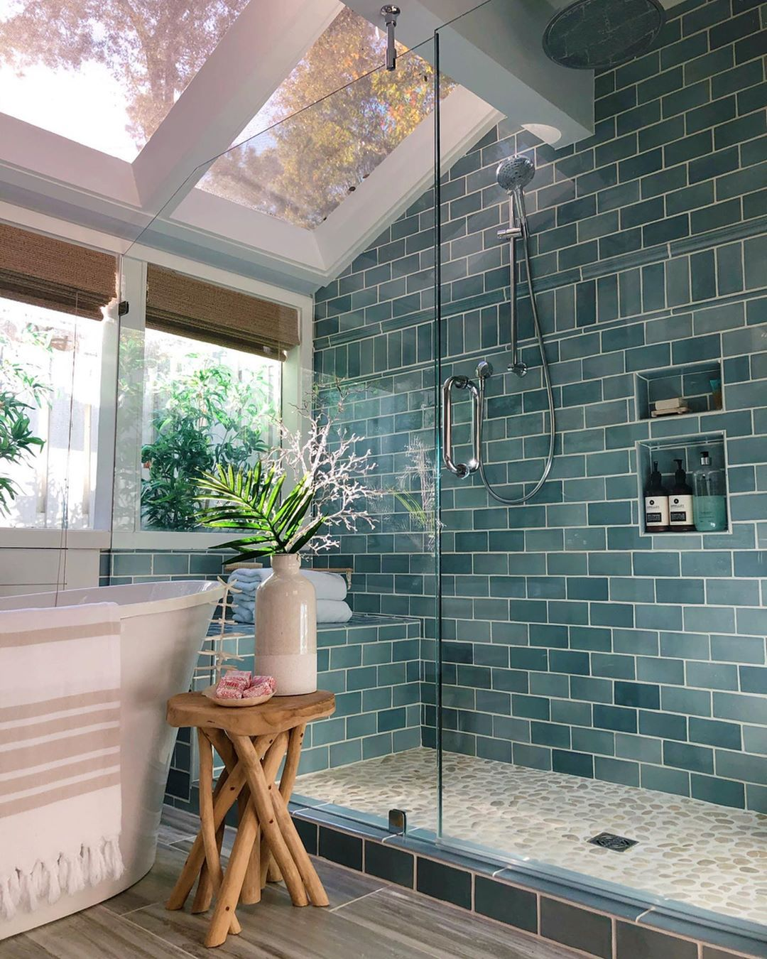 Benjamin Moore Color of the Year 2021 tile inspration